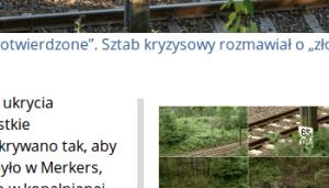 Kawałek artykułu z udziałem Wołoszańskiego.