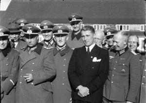Wernher von Braun w Peenemünde, marzec 1941 r.