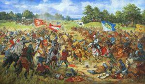 Chorągiew lwowska w bitwie pod Grunwaldem
