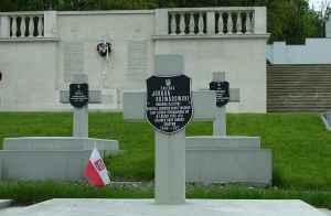 Symboliczny grób gen. Rozwadowskiego na Cmentarzu Obrońców Lwowa