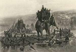 Przeprawa Hannibala przez Rodan