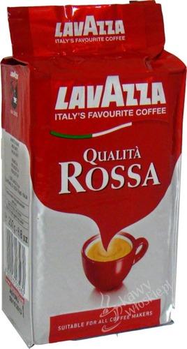 Recenzja kawy mielonej Lavazza Qualita Rossa