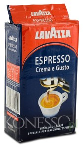 Kawa mielona LAVAZZA ESPRESSO CREMA E GUSTO