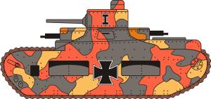 "Profil czołgu ""Oberschlesien"""