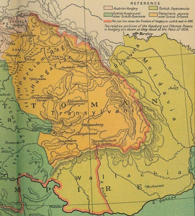 Siedmiogród, Mołdawia i Wołoszczyzna na początku XVII wieku
