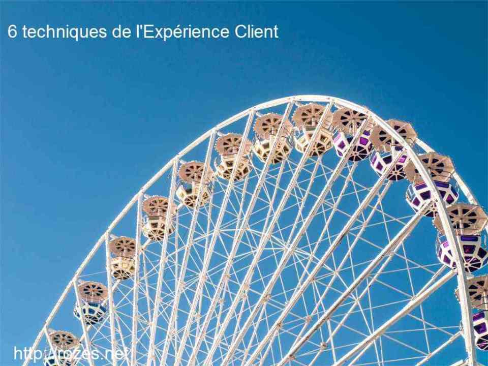 6 techniques de l'Expérience Clienti