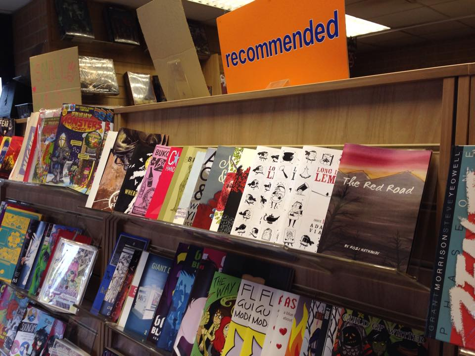 The Red Road - on the shelves at Travelling Man Manchester!