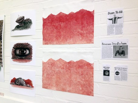 Some seductive collagraph prints.