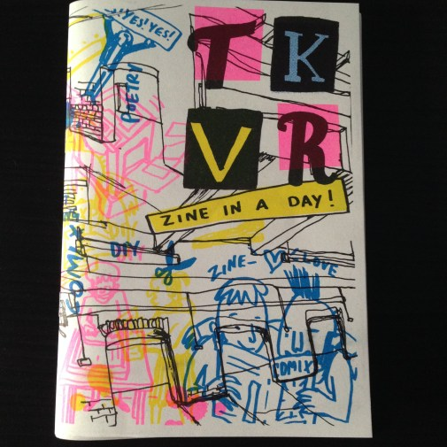 TAKEOVER 15 Zine in a Day!
