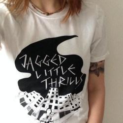 T-shirt Design for Jagged Little Thrills