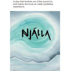 Warren Ellis' review of Njálla