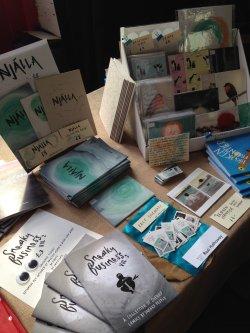 Bristol Comic & Zine Fair, October 2016