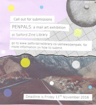 Penpals Exhibition, November 2016