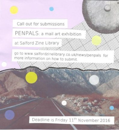 Penpals Exhibition, November 2016