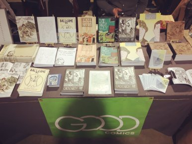 Good Comics at Thought Bubble, November 2016. Photo by Good Comics.