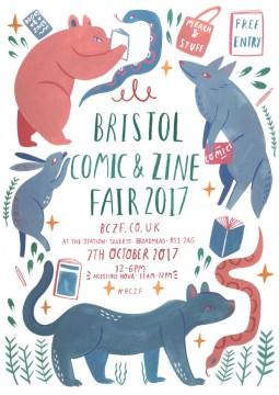 Bristol Comic & Zine Fair 2017