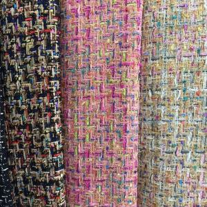 Haute Couture Fabric Tweed Wool Fabric GREEN /Designer Tweed Fabric Alta Moda/Fashion week fabric/Various Colours Available check  please