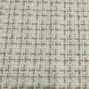 Italian Designer Tweed Fabric Gold Thread/Couture Tweed Fabric Alta Moda/Fashion week fabric/Various Colours Available Check Listing please