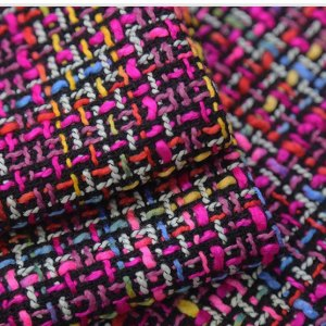 Italian Designer Tweed Fabric Beautiful  Tweed Couture Tweed Fabric Alta Moda/Fashion week fabric/Various Colours Available Check Listings
