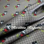 New!Gucci Jacquard Monogram with mickey mouse/By order Only/Gucci Jacquard Fabric /For Clothing,Bags,Upholstery