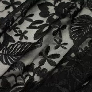 3D ITALIAN SILK EMBROIDERY LIMITED EDITION/DESIGNER LACE EMBROIDERY IN VARIOUS COLOURS #2