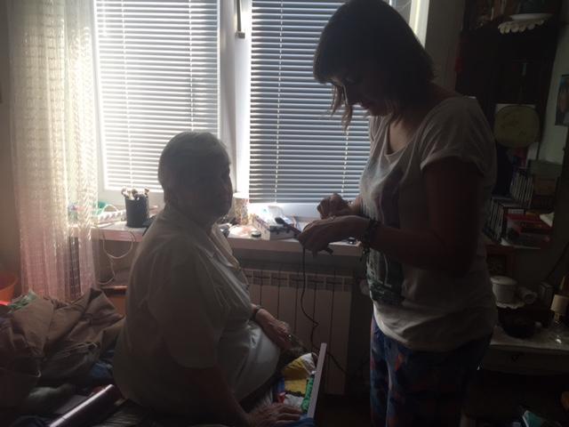 make up rozmowy z babcia