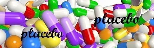 kolorowe tabletki placebo