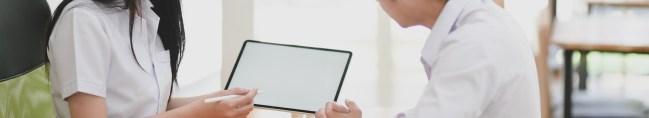 white coat doctor tablet