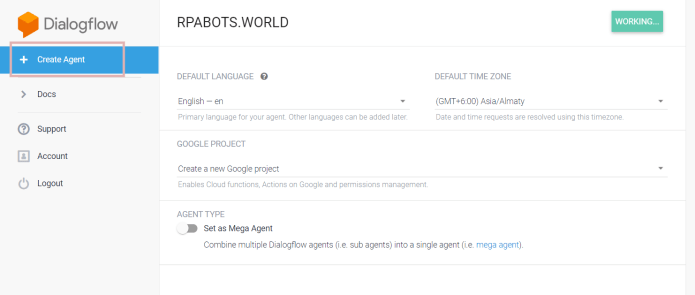 Build UiPath Chatbot With Dialogflow in Less than 15 Minutes 6