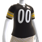 Pittsburght Steelers dolly clothes