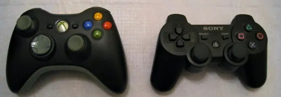 xbox 360 ps3 controllers slider