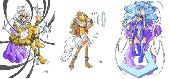 Cute anime pokemon girls