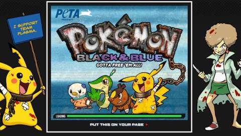 PETA vs. Pokemon: The Idiocy Continues