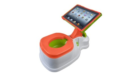 iPotty: A Potty Trainer With an iPad Stand