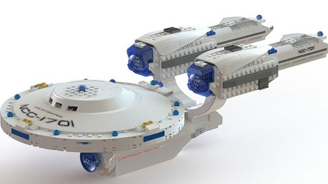 Win a KRE-O Star Trek USS Enterprise Construction Set