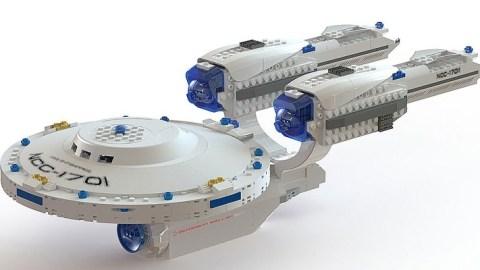 Win a KRE-O Star Trek USS Enterprise Construction Set