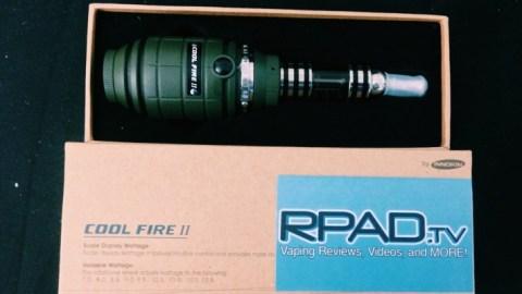 RPadTV 2014 Vaping Giveaway V: Win an Innokin Cool Fire II