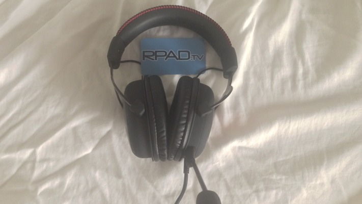Kingston HyperX Cloud Gaming Headset Review Front