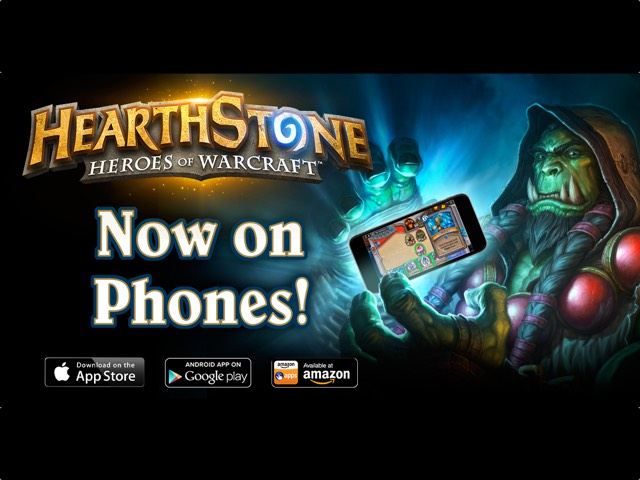 Hearthstone Available For Android and iOS Phones Now