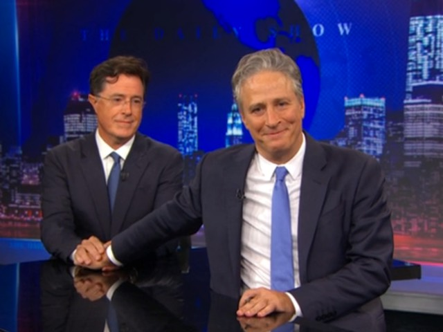 Colbert Stewart Farewell Was Beautiful Television