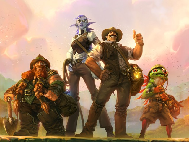 Hearthstone The League of Explorers Hands-On Preview