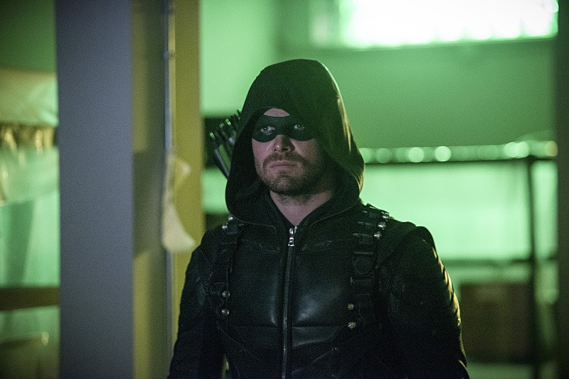 Arrow S05E03 Oliver Queen