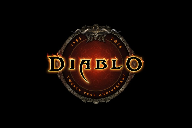 Diablo Logo 20th Anniversary