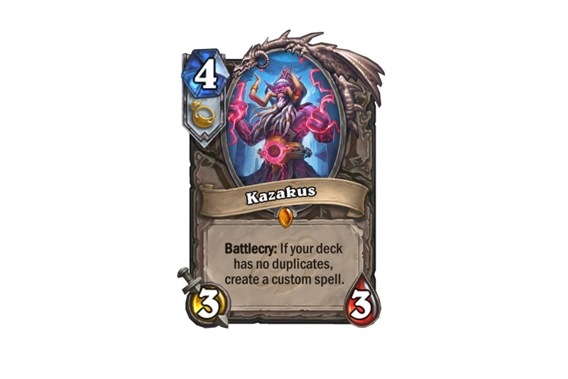 Why Kazakus Will Be My New Favorite Hearthstone Card