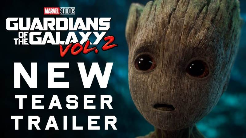 New Guardians of the Galaxy Vol. 2 Teaser Trailer