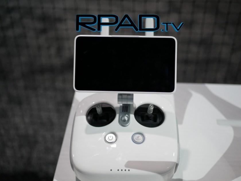 DJI Phantom 4 Pro controller top view