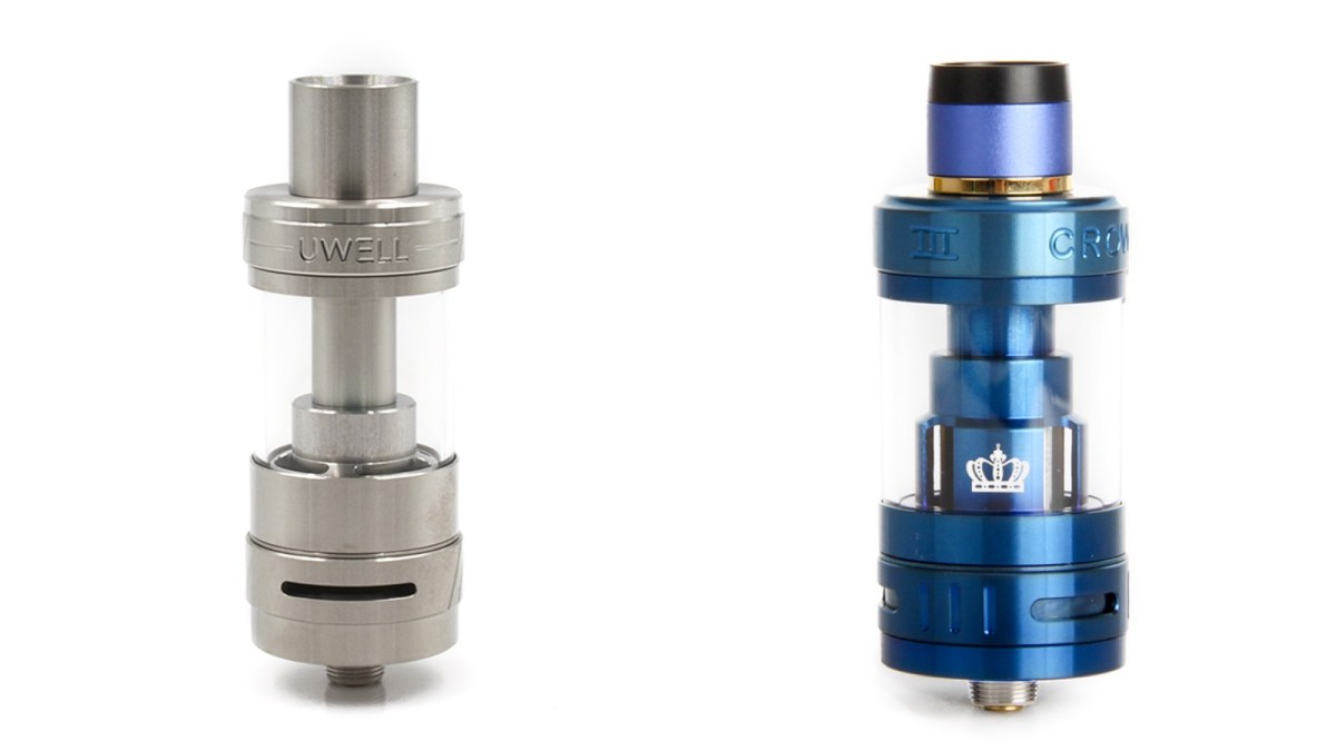 Uwell Crown 2 vs Crown 3