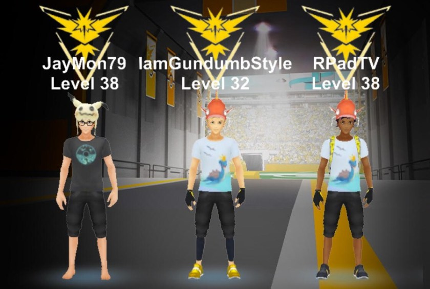 Pokemon Go Pokemusings Team Instinct