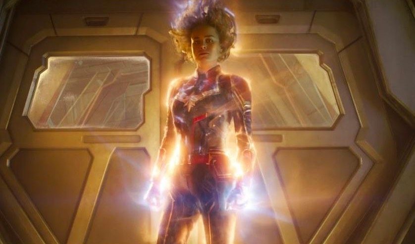 Captain Marvel powered up