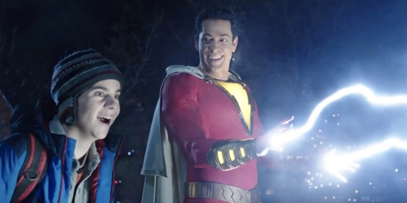 Shazam Movie Review lightning
